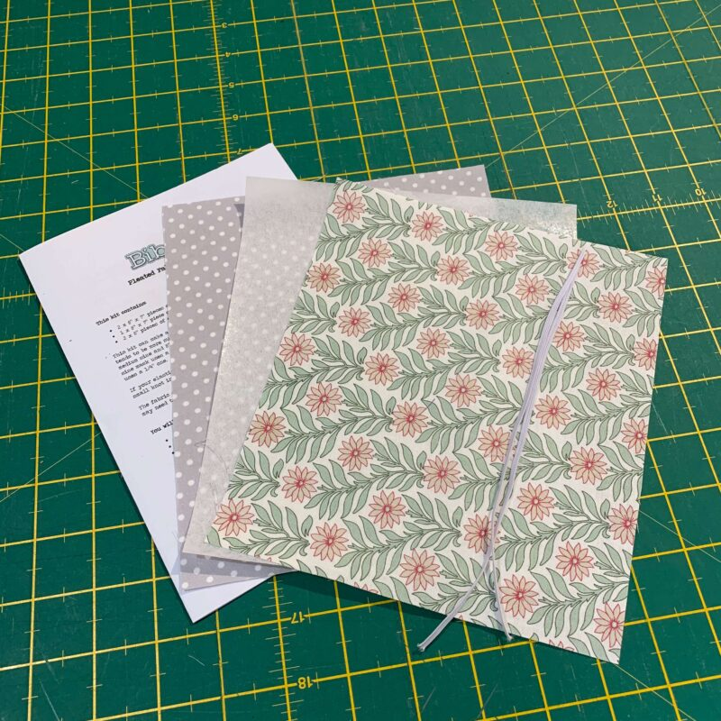 Pleated Face Mask Kit: Liberty The Hesketh House: Sweet Marigold Pink