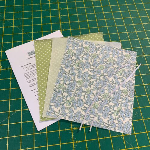 Pleated Face Mask Kit: Liberty The Hesketh House: Chiltern Hill Blue