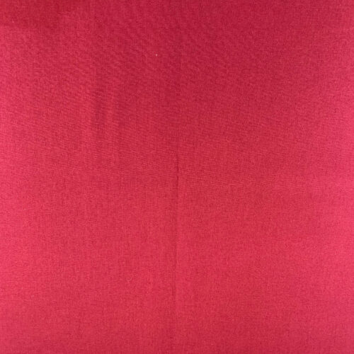 Plain Claret Cotton Fabric - Fat Quarter