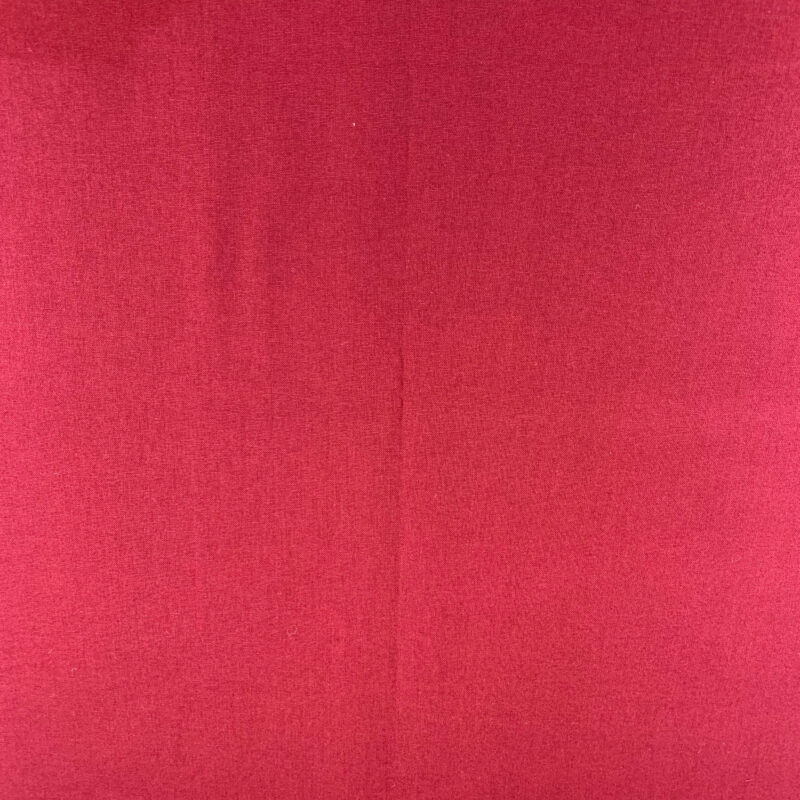 Plain Claret Cotton Fabric - Fat Quarter