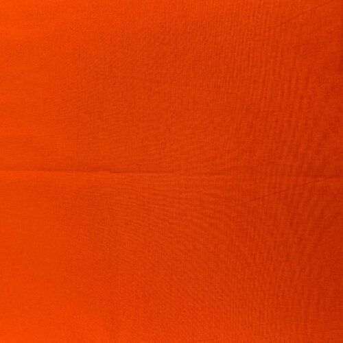 Plain Orange Cotton Fabric - Fat Quarter