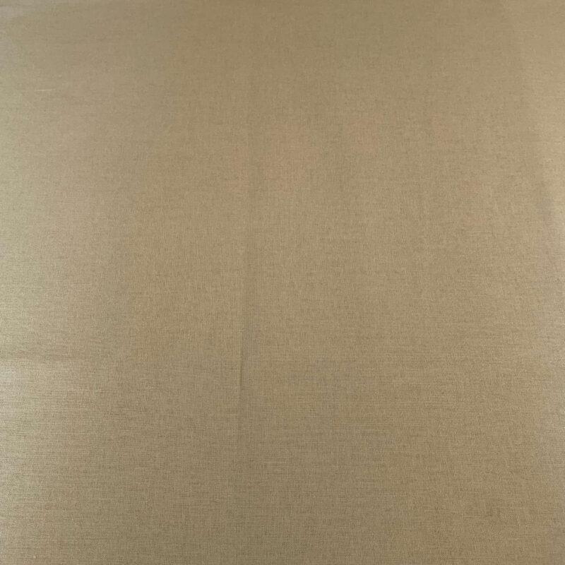 Plain Khaki Cotton Fabric - Fat Quarter
