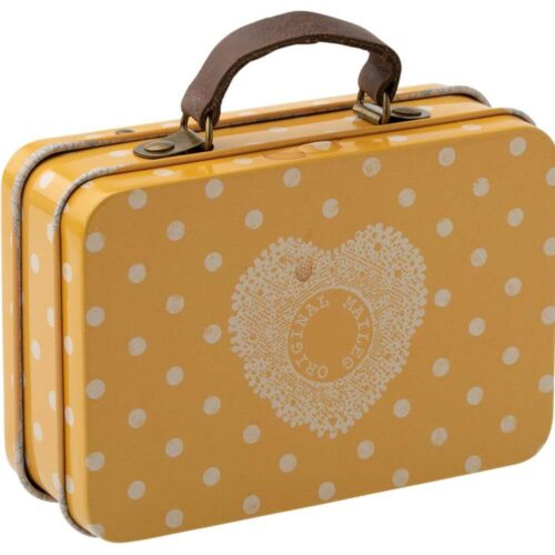 Maileg Yellow Spot Suitcase