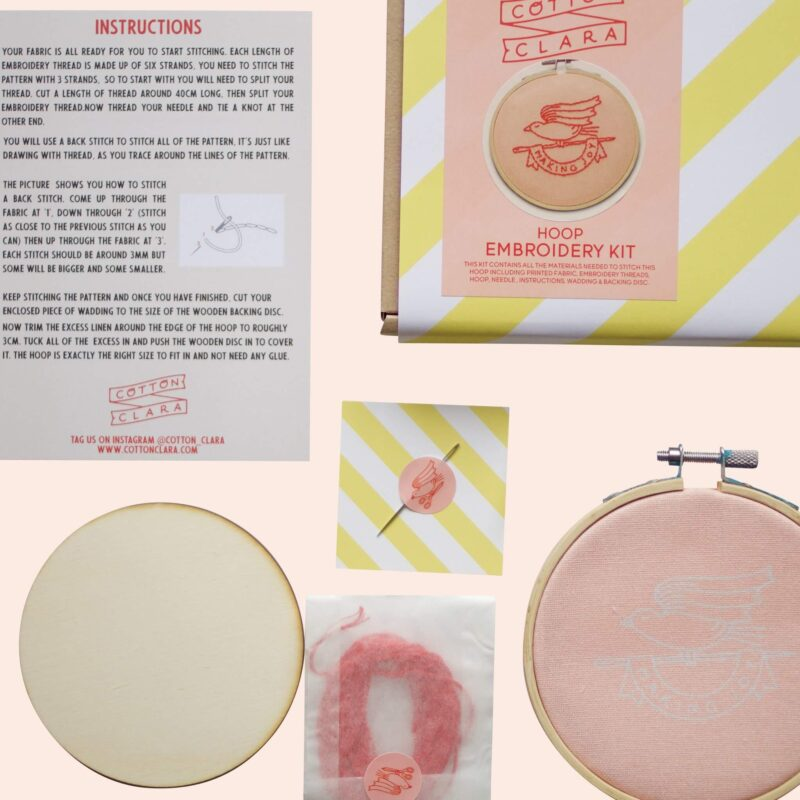 'Making Joy' Embroidery Kit