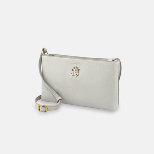 Cath Kidston Bath Flowers Fawn Small Zipped Cross Body Bag