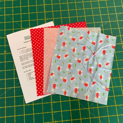 Pleated Face Mask Kit: Cath Kidston Billie