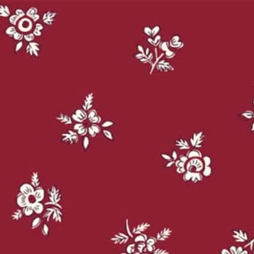 Liberty Fabrics - Flower Show Winter: Abbeywood Red - £15 per metre