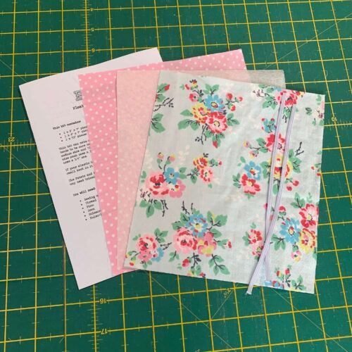 Pleated Face Mask Kit: Cath Kidston: Kingswood Rose