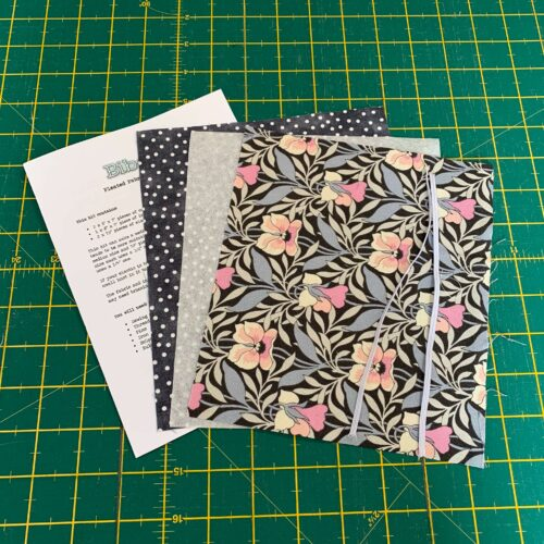 Pleated Face Covering Kit: Liberty The Hesketh House: Harriet's Pansy Pink