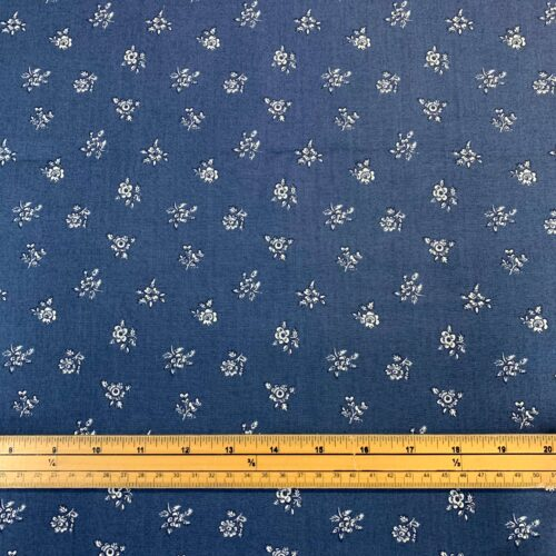 Liberty Fabrics - Flower Show Winter: Abbeywood Blue - £15 per metre