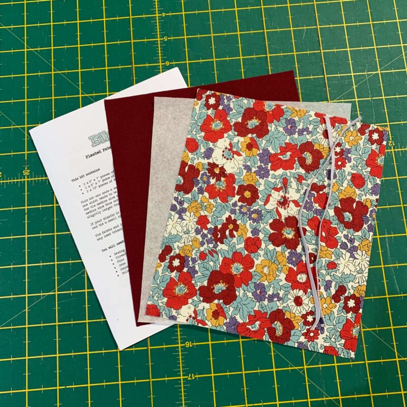 Pleated Face Covering Kit: Liberty: Flower Show Winter: Cosmos Bloom