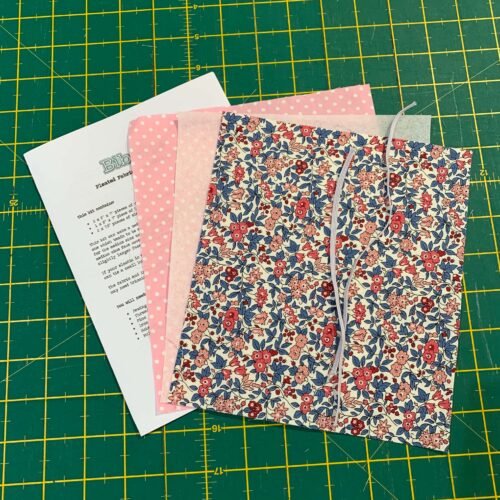 Pleated Face Covering Kit: Liberty: Flower Show Winter: Forget Me Not Blossom