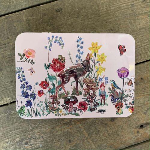 Forest Folk Hand & Lip Tin with 50ml Hand Cream & 10ml Lip Balm