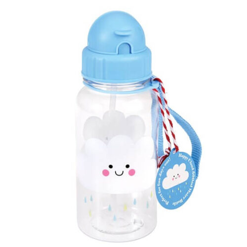 Happy Rain Cloud Kids Water Bottle
