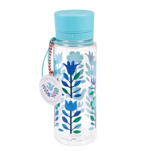 Folk Doves Water Bottle