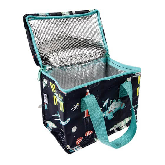 Space Age Insulated Lunch Bag