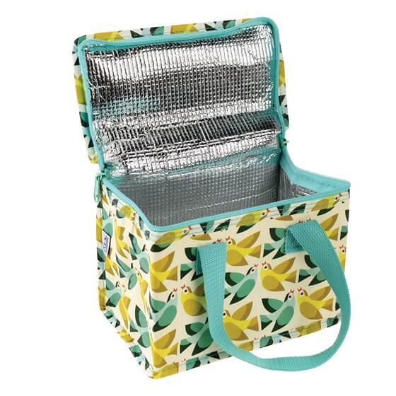 Love Birds Insulated Lunch Bag