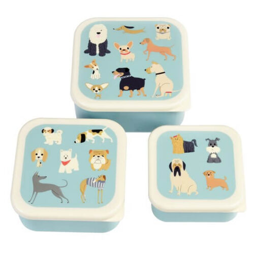Best in Show Set of 3 Snack Boxes
