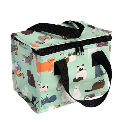 Nine Lives Insulated Lunch Bag