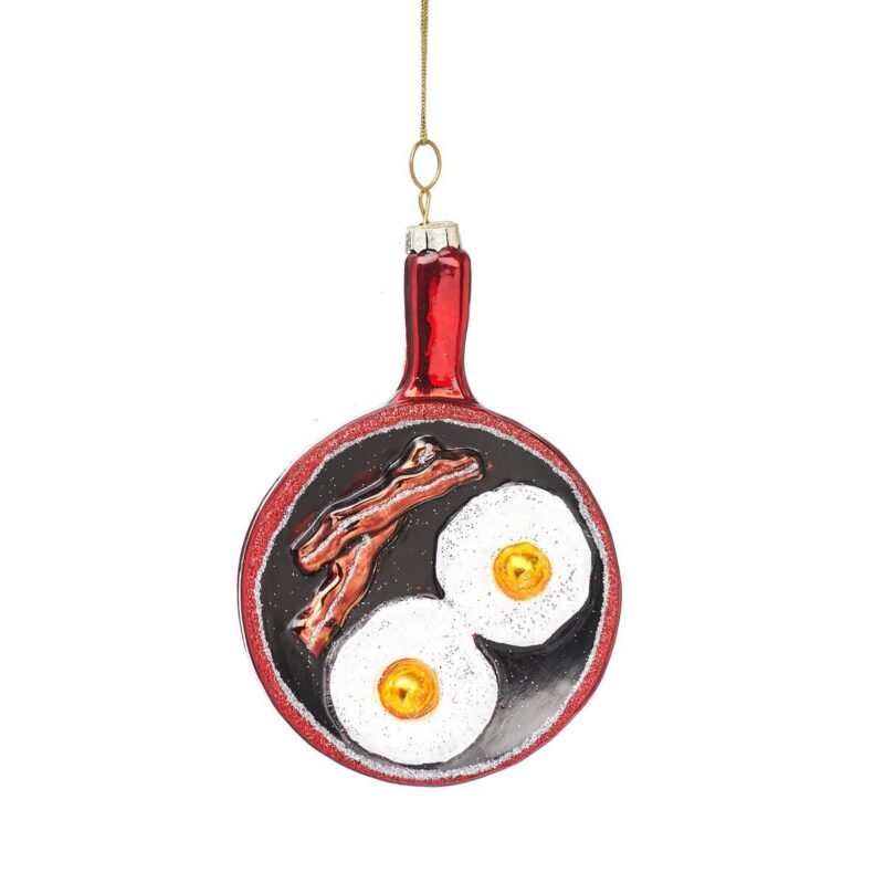 Christmas Fry Up Shaped Bauble Christmas Decoration