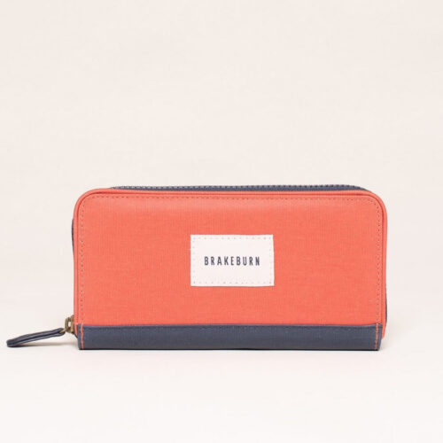 Brakeburn Burnt Orange Zip Purse