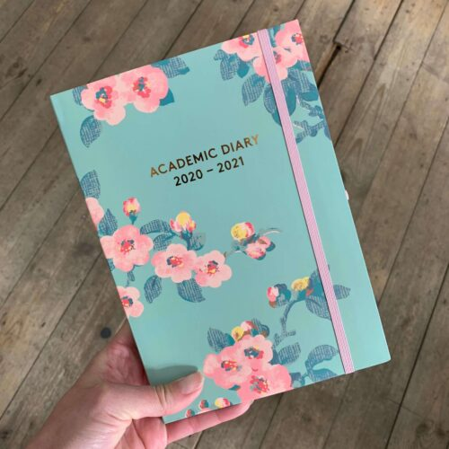 Cath Kidston A5 Academic Diary 2020-2021 Mayfield Blossom