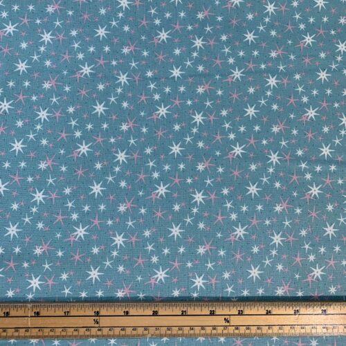 Liberty Fabrics - A Festive Collection: Star Frost - Fat Quarter