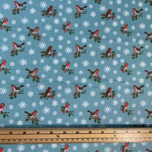 Liberty Fabrics - A Festive Collection: Jolly Robin - Fat Quarter