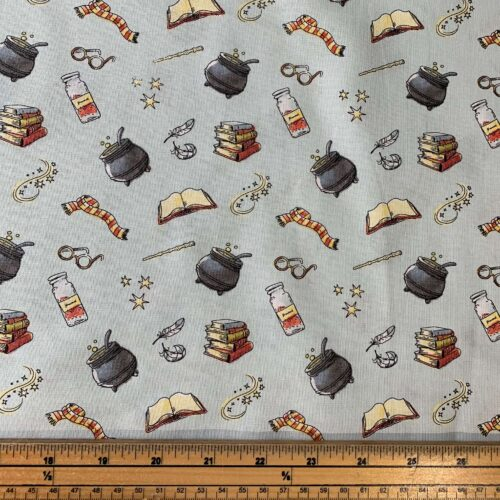 Harry Potter Potions Cotton Fabric - Fat Quarter
