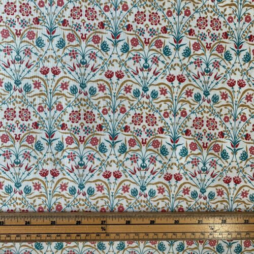 Liberty Fabrics - Winterbourne House: Bankart Fresco: Light - Fat Quarter