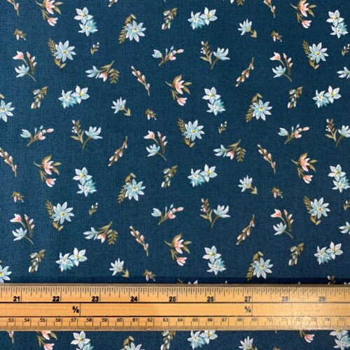 Liberty Fabrics - Winterbourne House: Lawn: Forest Green - Fat Quarter