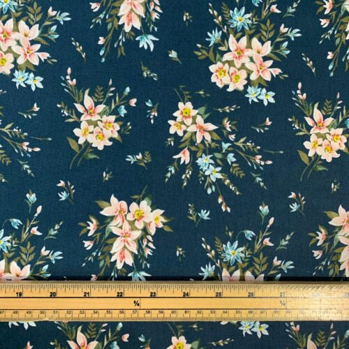 Liberty Fabrics - Winterbourne House: Bouquet: Forest Green - Fat Quarter