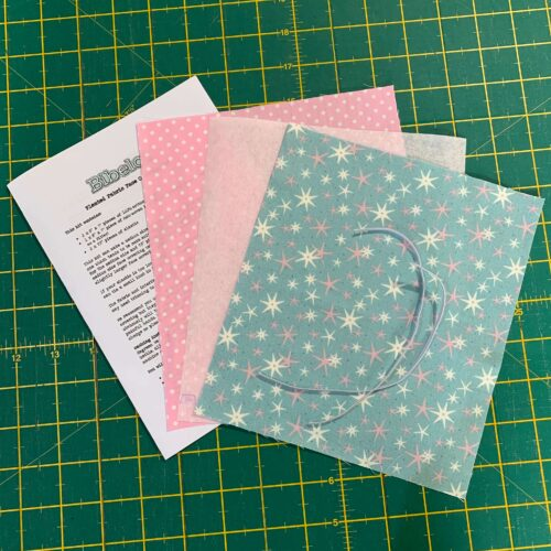 Pleated Face Covering Kit: Liberty: A Festive Collection: Star Frost