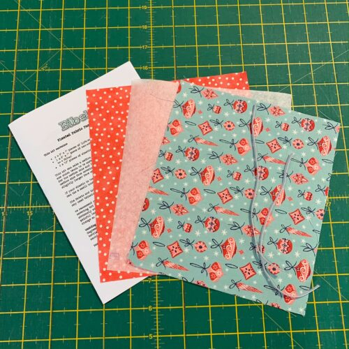Pleated Face Covering Kit: Liberty: A Festive Collection: Deck the Halls