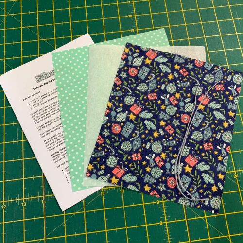 Pleated Face Covering Kit: Liberty: A Festive Collection: Festive Joy