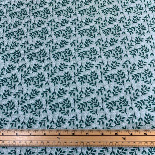 Christmas Snowy Woodland Cotton Fabric - Fat Quarter