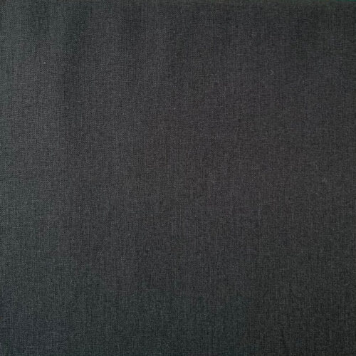 Plain Black Cotton Fabric - Fat Quarter