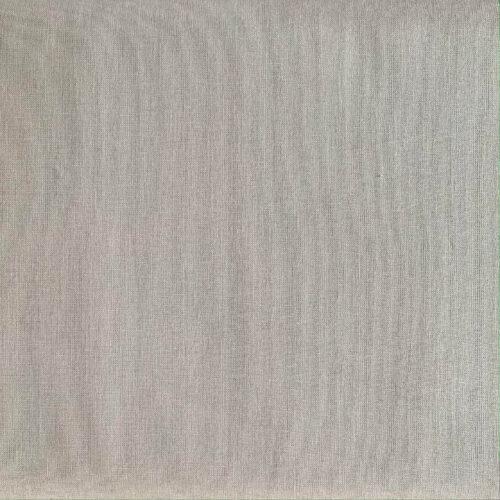 Plain Elephant Grey Cotton Fabric - Fat Quarter