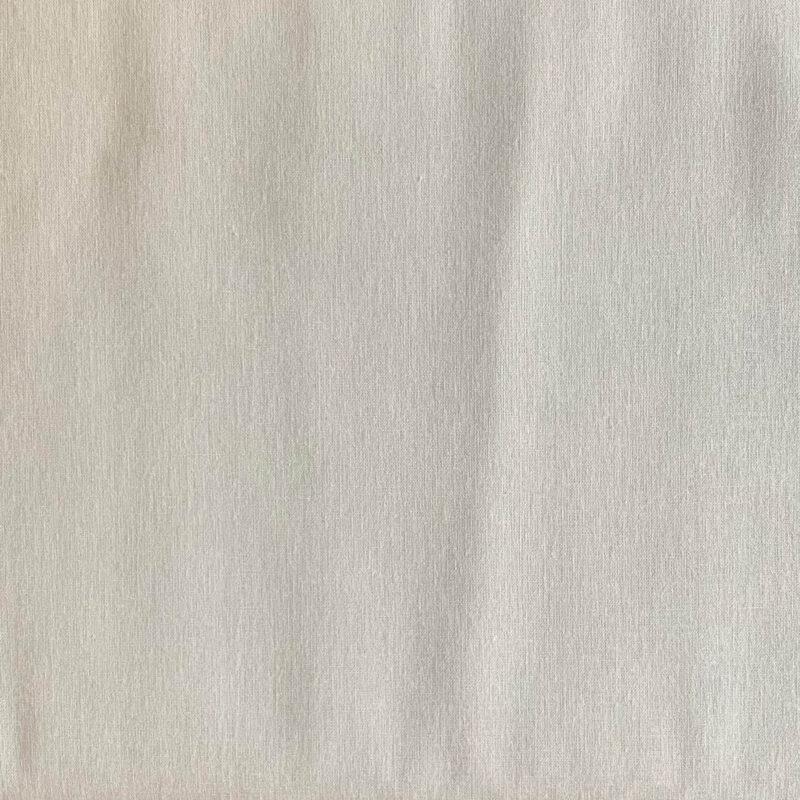 Plain Light Grey Cotton Fabric - Fat Quarter