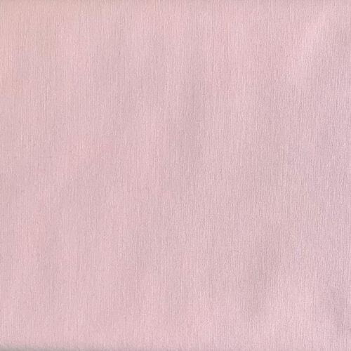 Plain Pale Pink Cotton Fabric - Fat Quarter