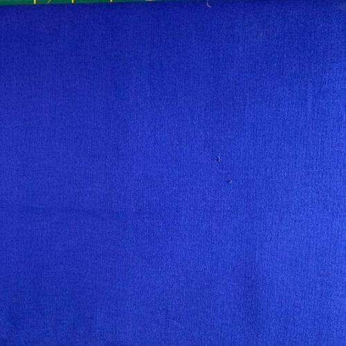 Plain Royal Blue Cotton Fabric - Fat Quarter
