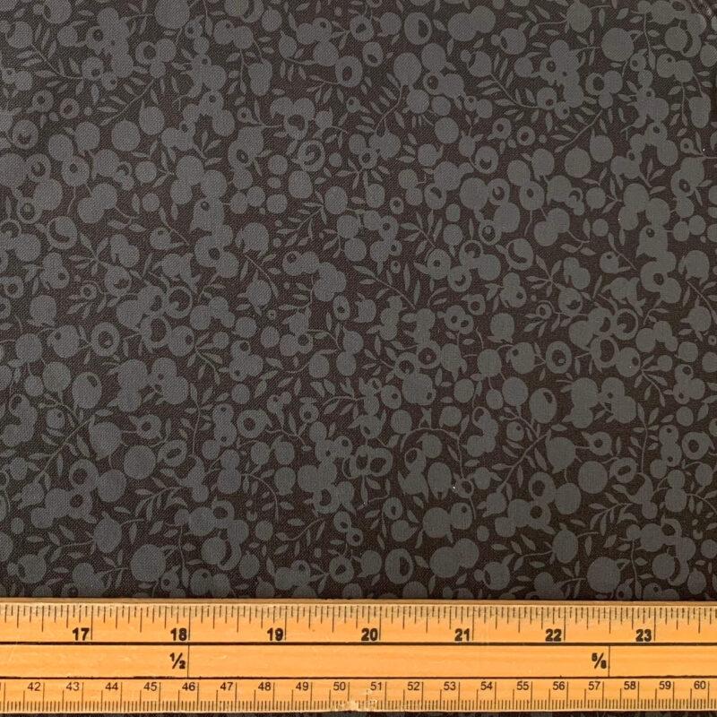 Liberty Fabrics - Wiltshire Shade: Black - Fat Quarter
