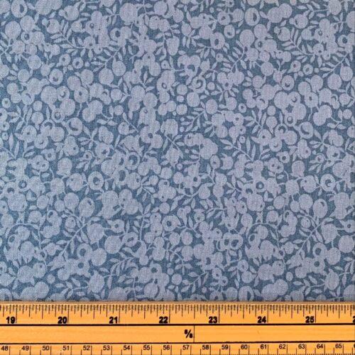 Liberty Fabrics - Wiltshire Shade: Denim - Fat Quarter