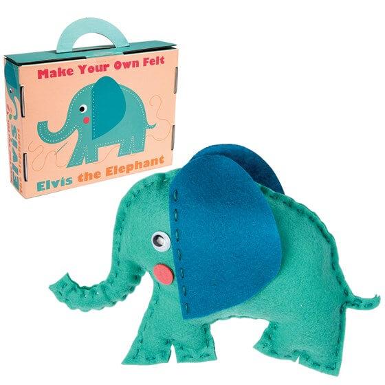 Elvis the Elephant Sewing Kit