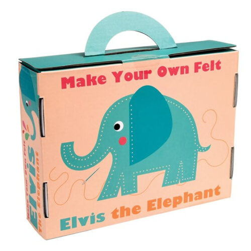 Elvis the Elephant Sewing Kit