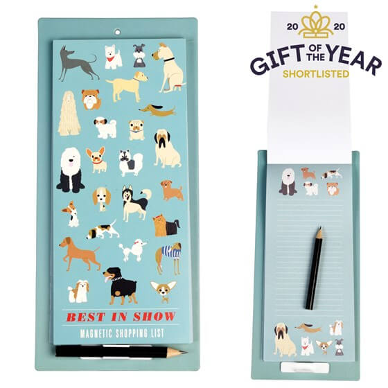 Best in Show Magnetic Shopping List
