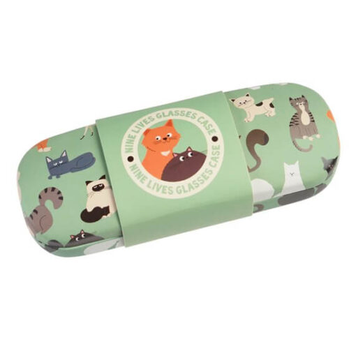 Nine Lives Glasses Case