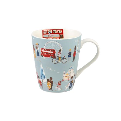 Cath Kidston London People Blue Stanley Mug