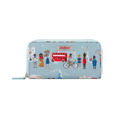 Cath Kidston London People Continental Zip Wallet