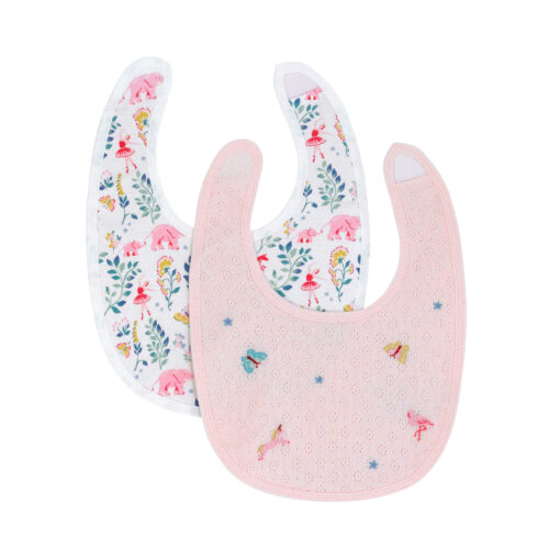 Cath Kidston Fantasy Forest 2 pack of Bibs